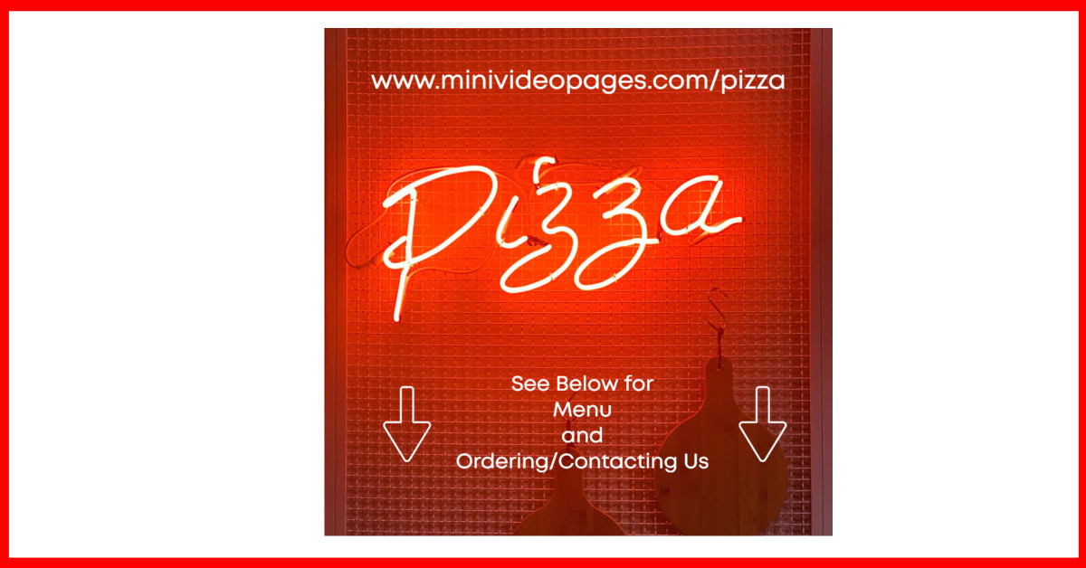 image mini video pages pizza social media clickable link
