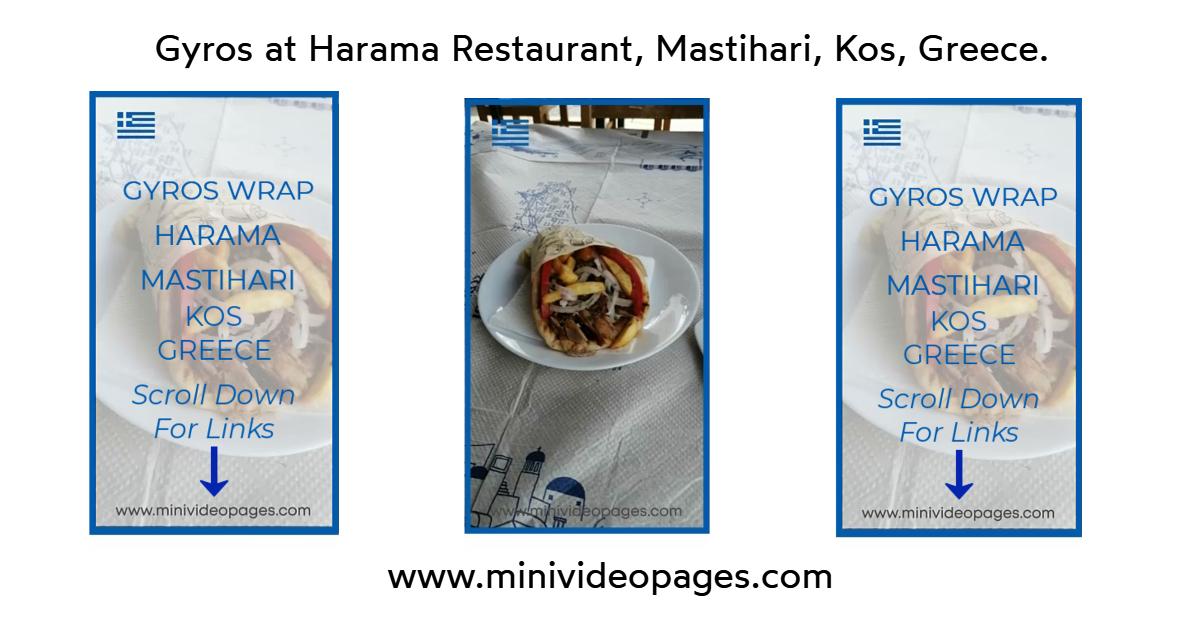 image gyros at harama, mastihari, kos, greece https://minivideopages.com