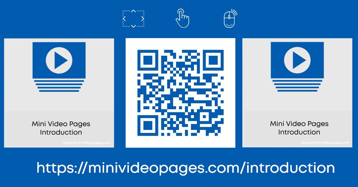 image Mini Video Pages Introduction Link