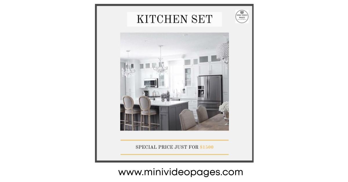 image Mini Video Pages Kitchen Set Link