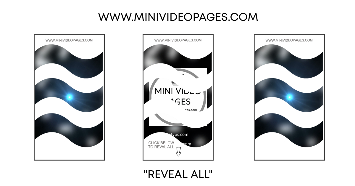 image Mini Video Pages White Wave Reveal All Link