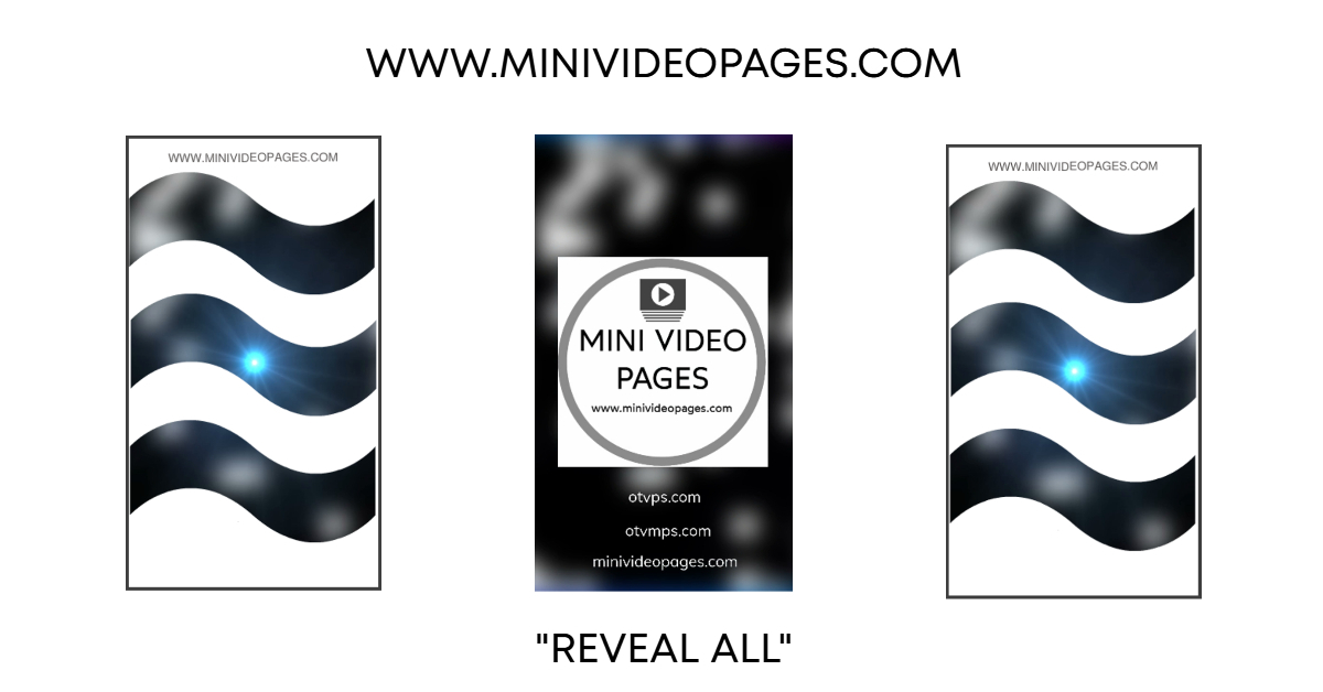 image Mini Video Pages White Wave Reveal Link