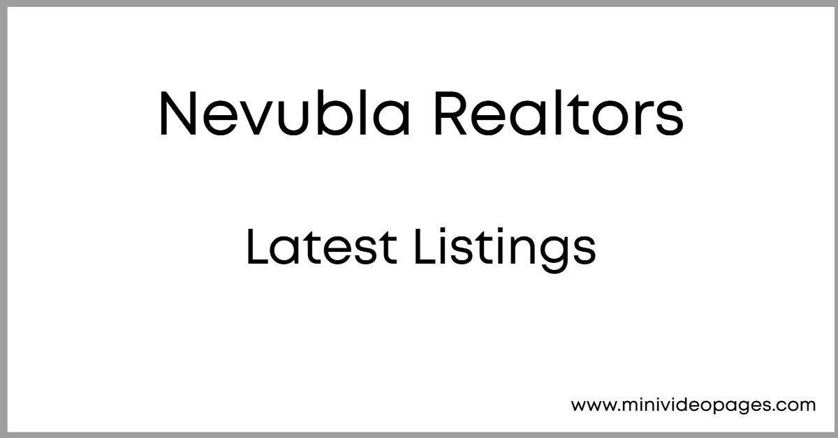 image nevubla realtors mini video pages example
