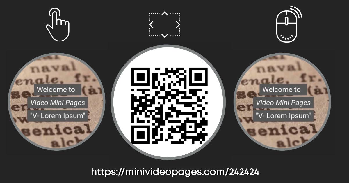 Mini Video Pages Vlorem 242424 Link