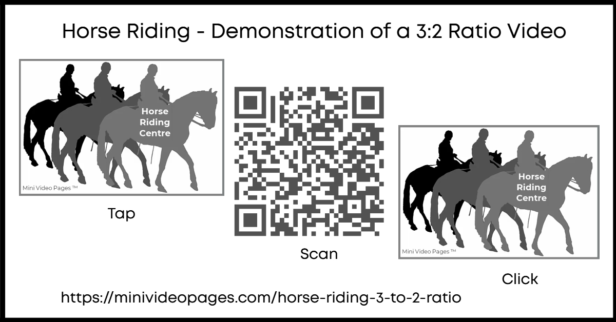 Horse Riding 3 To 2 Ratio Demo