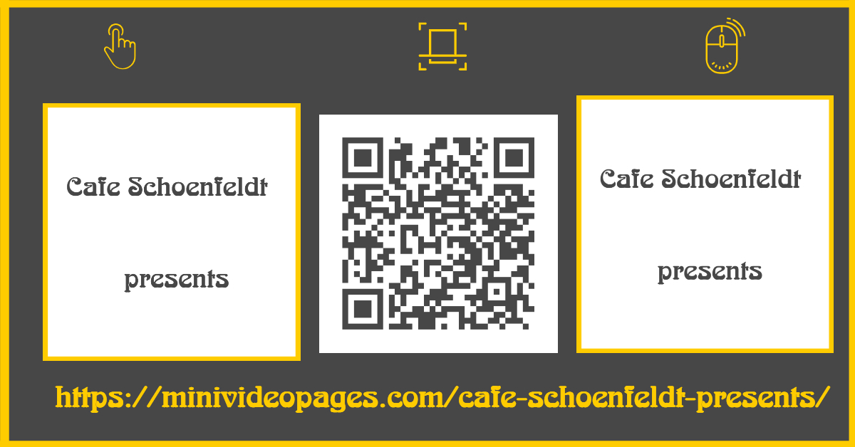 Mini Video Pages Cafe Schoenfeldt Presents Link