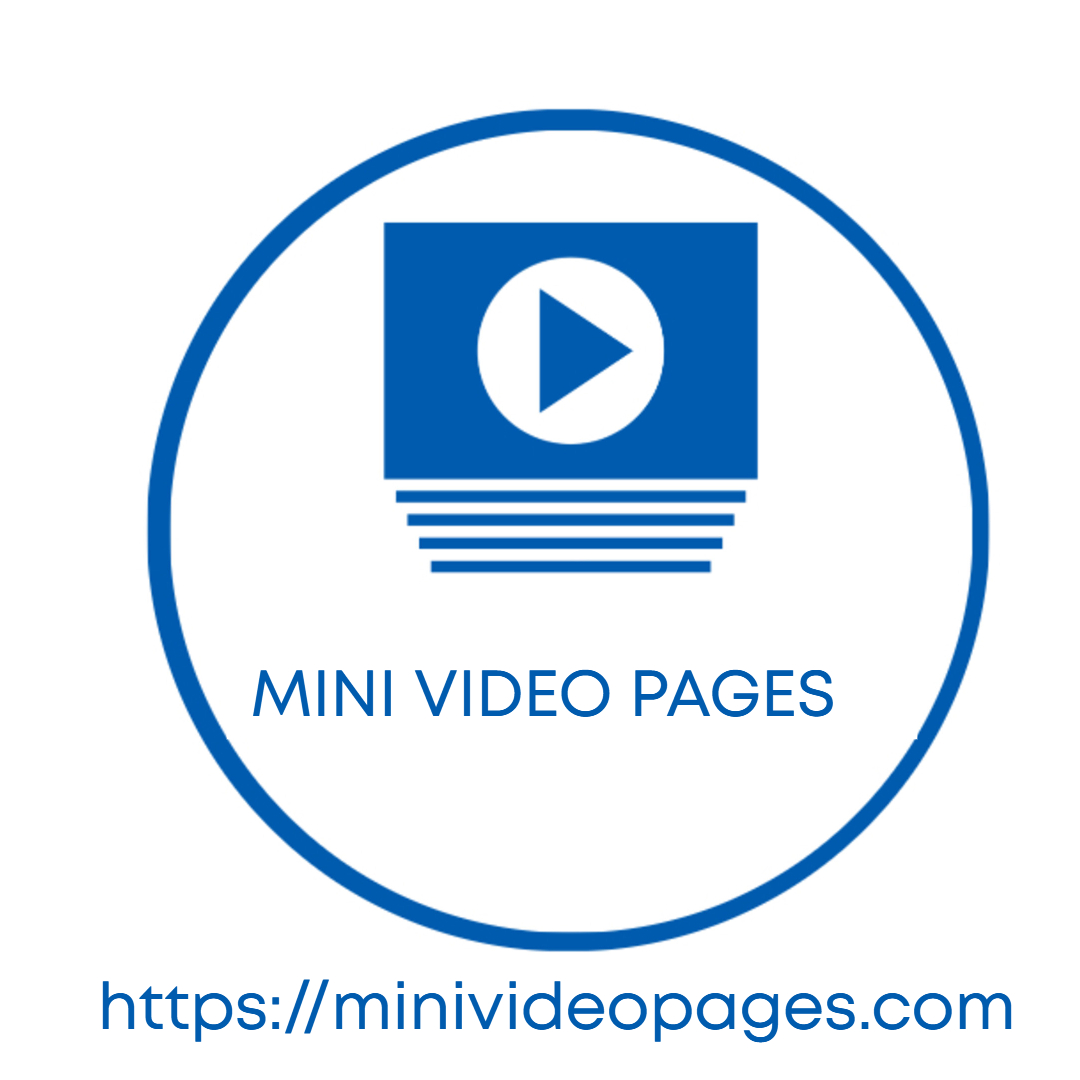 Mini Video Pages Logo Text 1080x1080