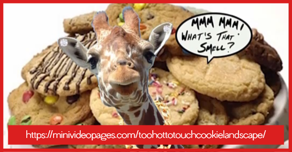 Image Too Hot To Touch Cookie Link