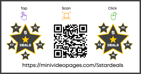 Mini Video Pages 5 Star Deal Link Image