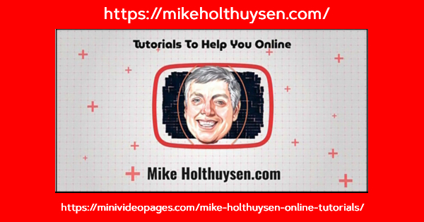 Mike Holthuysen Intro Mini Video Pages Promo Image