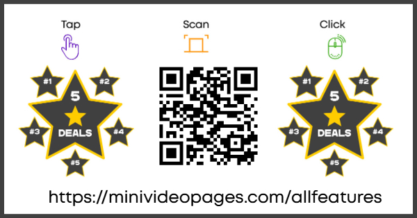 Mini Video Pages All Features Page Link